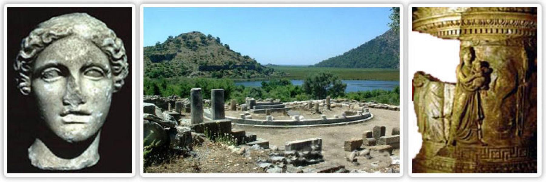 dalyan kaunos antik şehir harabeleri